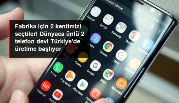 Akıllı telefon üreticileri Samsung ve Oppo Türkiye'de üretime başlıyor