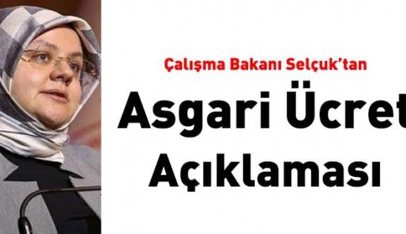 Çalışma Bakanı Selçuk'tan asgari ücret Hakkında kritik Açıklama!