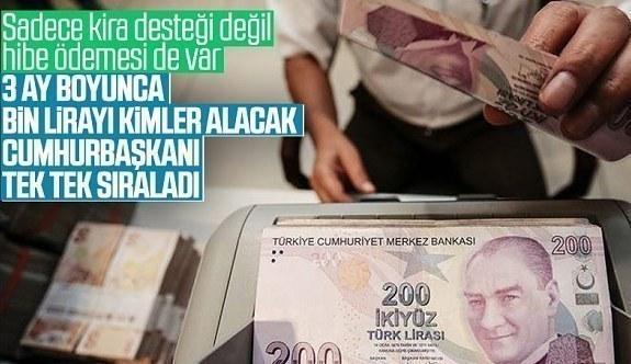Cumhurbaşkanı Erdoğan, esnaflar için uygulanacak ek destek paketini duyurdu hibe desteği kaçlira olacak?