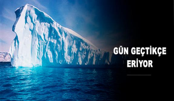 Dünyanın En Büyük Buz Dağındaki Erime Olduğu Kayda Geçti!