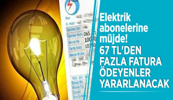 Elektrik faturası 75 TL üzeri olanlara yeni yıl fırsatı!
