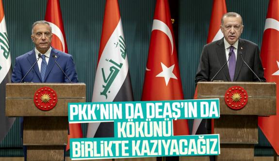 Erdoğan: Ne Irak, ne de Suriye'nin geleceğinde teröre asla yer yoktur