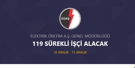 EÜAŞ Genel Müdürlüğü 150 DAİMİ İŞÇİ Personel Alımı Yapacak