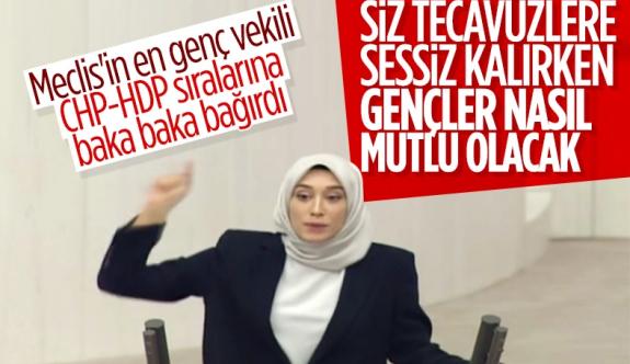 Rümeysa Kadak'tan CHP'ye tecavüz sessizliği tepkisi