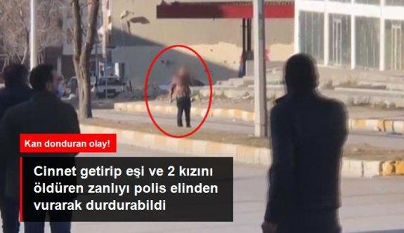 Son Dakika! Erzurum'da cinnet getiren şahıs, eşi ve iki çocuğunu öldürdü