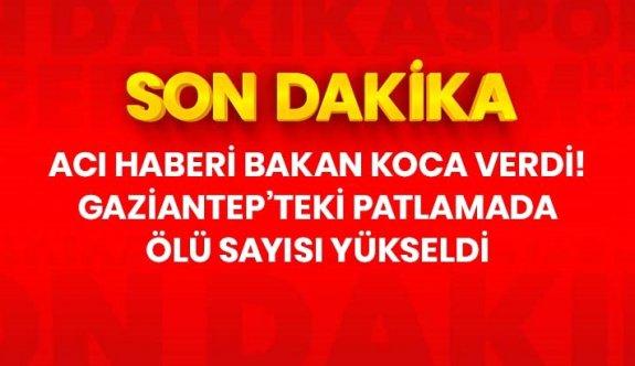 Son Dakika: Gaziantep'te hastanede meydana gelen patlamada ölü sayısı 10'a yükseldi