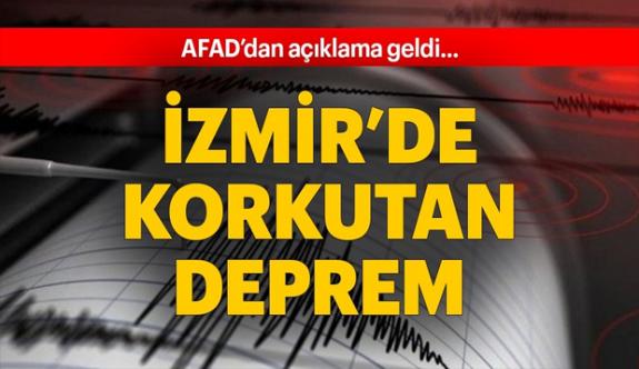 Son Dakika Haberi: İzmir'de deprem meydana geldi!