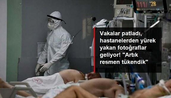 """Vaka sayıları patladı, sağlık çalışanlarından """"tedbir"""" çağrısı geldi: Artık çok yorulduk ve tükendik, lütfen virüsü ciddiye alın"""