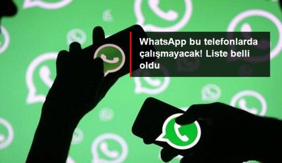 WhatsApp bu telefonlarda çalışmayacak! Liste belli oldu