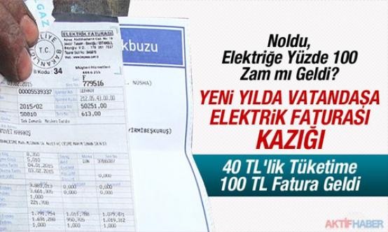 Yeni yılın ilk fatura zamları Resmi Gazete'de yayımlandı