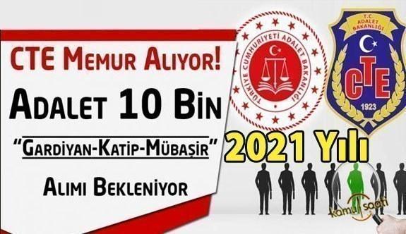2021 Gardiyan alımı ne zaman başlayacak! Adalet Bakanlığı'ndan müjdeli haber geldi!