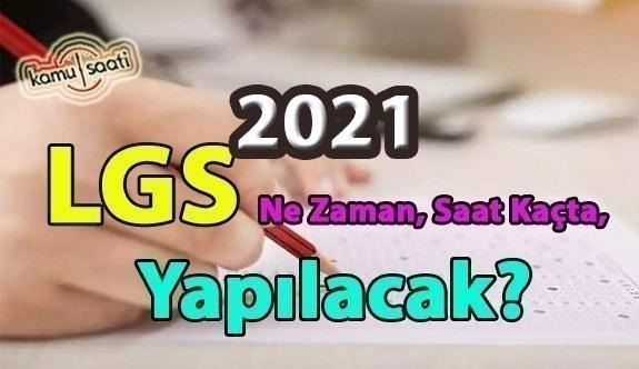 2021 LGS ne zaman yapılacak? (2021 LGS tarihleri) Örnek Lgs Soruları 2021