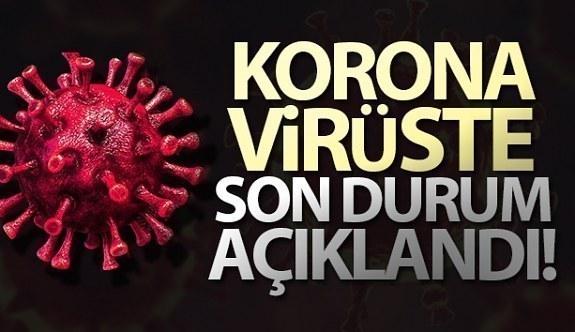 24 Ocak Pazar Korona tablosu bugün ölüm ve vaka sayısı kaç? İşte bugünki Korona virüs Tablosu