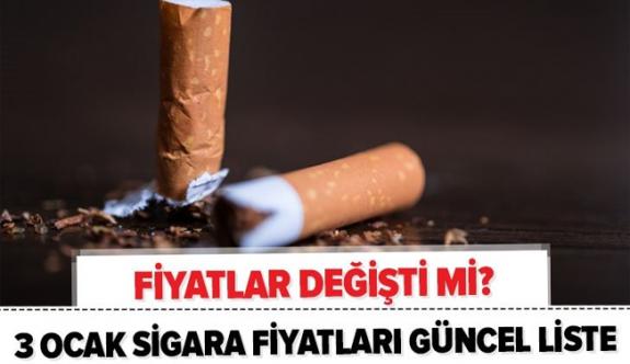 5 Ocak 2021 güncel zamlı sigara fiyat listesi! Kent, Viceroy, Tekel, Muratti, Camel, Parliament fiyatları ne kadar oldu?