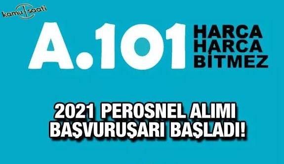 A101 personel alımı yapacak! A101 2021 eleman alımı kadroların listesi! A101 iş ilanları ve başvuru formu