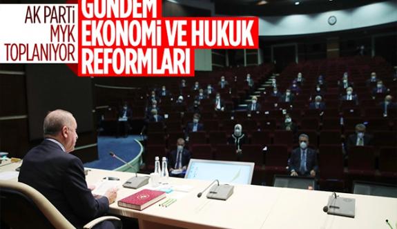 AK Parti 2021'in ilk MYK'sında reform gündemiyle toplanıyor
