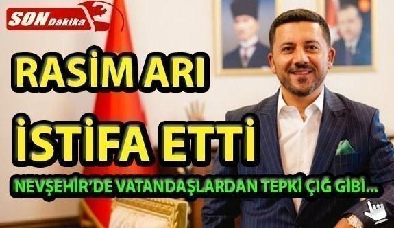 AK Partili Rasim Arı, Belediye Başkanlığı görevinden istifa etti