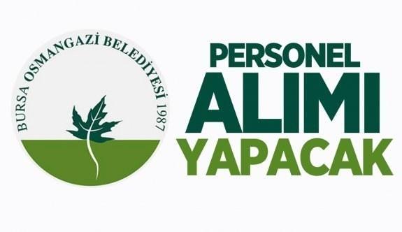 Bursa Osmangazi belediyesi personel alımı yapacak 1 Şubat tarihinden itibaren belediyeye 10 personel alınacak!