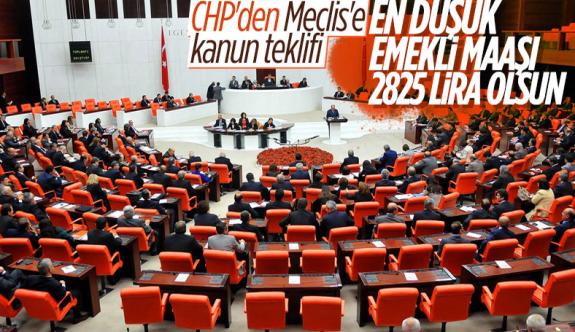 CHP'den Meclis'e Süper emekli maaşı teklifi CHP'nin teklifi kabul edilip yasalaşırsa, en düşük emekli aylığı 2 bin 825 TL'ye yükseltilecek.