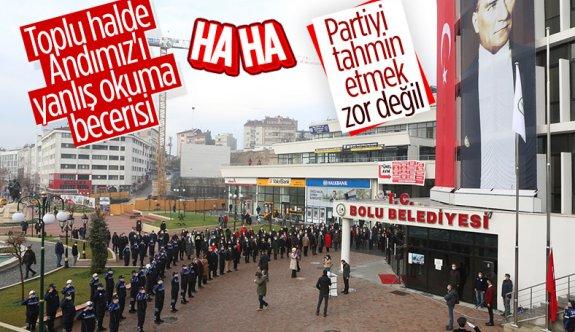 CHP'li Rasim Özdemir, Andımız'ı yanlış okudu
