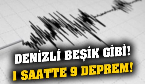 Denizli beşik gibi: Arka arkaya 5 deprem