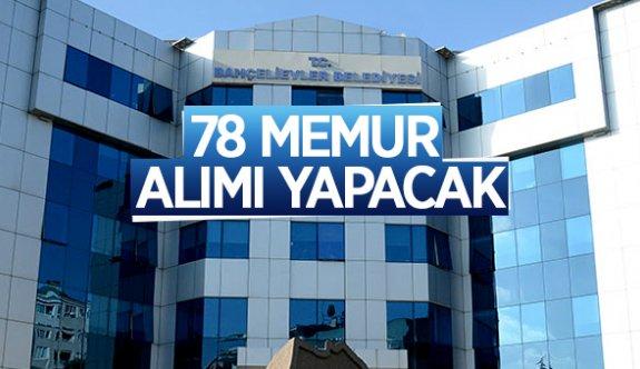 İstanbul Bahçelievler Belediyesi 78 memur personel alımı yapacak 2021 personel alımı iş ilanları
