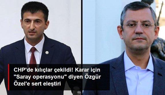 """İstifanın ardından CHP'de kılıçlar çekildi! Özel'in """"Saray operasyonu"""" sözlerine Çelebi'den sert yanıt: Menemen'i kim sattı?"""