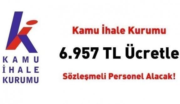 Kamu İhale Kurumu 6 bin 957 TL net ücretle 20 uzman yardımcısı alacak