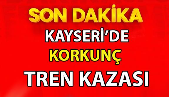 Kayseri İncesu İlçesi Saraycık Mahallesindeki raylar üzerinde erkek cesedi bulundu