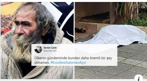 Kışın Karanlık Yüzü: Kadıköy'de Sami Babacan İsimli Evsiz Vatandaş Donarak Hayatını Kaybetti