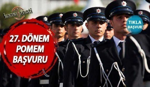POMEM 8 bin polis alımı 2021 son durum... 27. Dönem POMEM sınavı tarihleri nedir? 8 bin polis alımı ne zaman hangi tarihte?