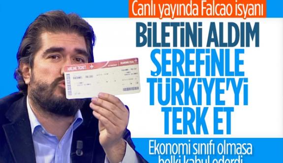 Rasim Ozan Kütahyalı'dan Radamel Falcao'ya bilet