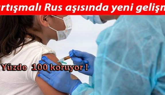 Rusya'dan ikinci korona aşısı: Etkinlik oranı yüzde 100