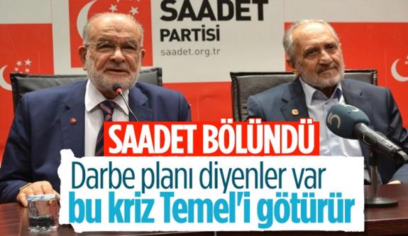 Saadet Partisi'nde Temel Karamollaoğlu ile Oğuzhan Asiltürk ayrımı Temel Karamollaoğlu ile Oğuzhan Asiltürk arasında yaşanan kriz günden güne büyüyor.