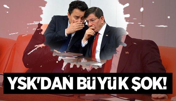 Seçimlere Girecek siyasi partiler açıklandı!!! Deva ve Gelecek Partisi'ne YSK'dan büyük şok!