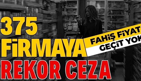 SON DAKİKA: Fahiş fiyata geçit yok! Fırsatçı esnaflara 11 milyon 855 bin lira ceza