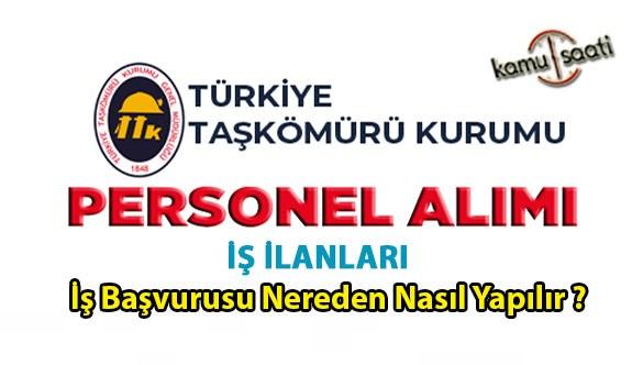 TTK Türkiye Taşkömürü Kurumu işçi alımı 2021