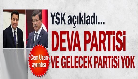 YSK partileri açıkladı: Cem Uzan'ın paylaşımı dikkat çekti!