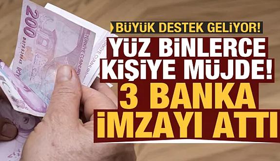 Yüz binlerce kişiye müjde...SGK'dan 3 kamu bankası ile imza attı...
