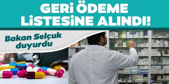 Zehra Zümrüt Selçuk: 14 ilaç geri ödeme listesine alındı