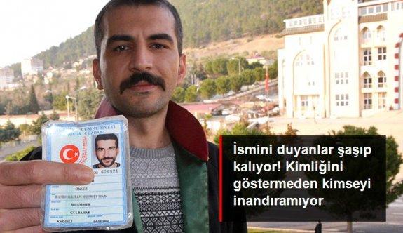 Adının, 'Fatih Sultan Mehmet Han Öksüz' olduğunu duyanlar inanmayıp kimliğine bakıyor