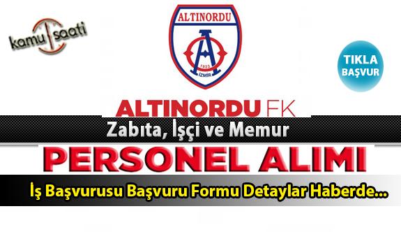 Altınordu Belediyesi Personel Alımı İş ilanları ve Başvuru Formu