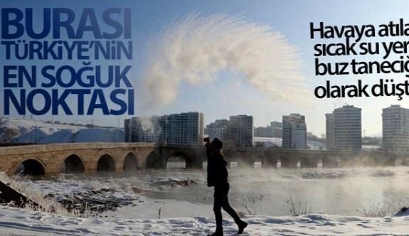 Burası Türkiye'nin en soğuk noktası sıfırın altında 27,1 derece!
