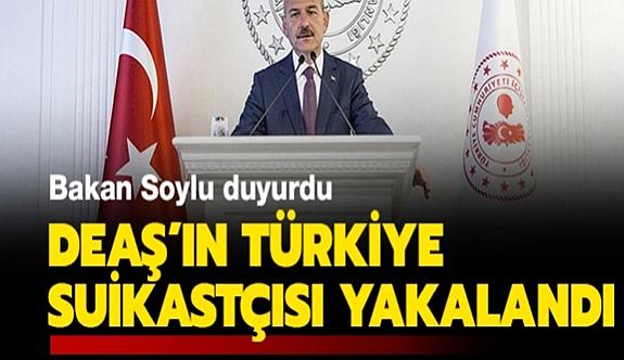 DEAŞ'ın Türkiye suikastçısı kıskıvrak yakalandı!