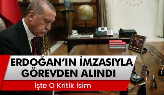 Erdoğan'ın görevden aldığı iki kritik isim!
