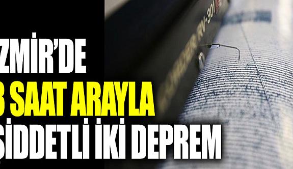 İzmir'de ikinci 5,1 büyüklüğünde deprem meydana geldi