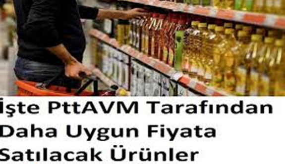 PttAVM'de indirimli satılacak ürünler bellirlendi