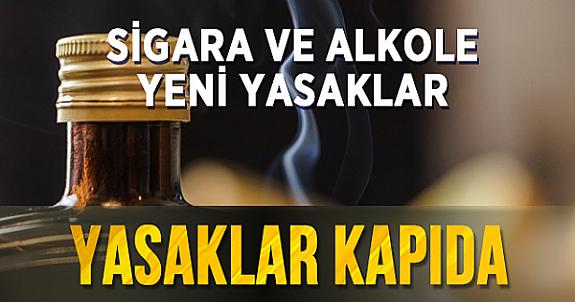 Sigara ve alkol satışı  ve Kullanımında yeni yasaklar Kapıda !