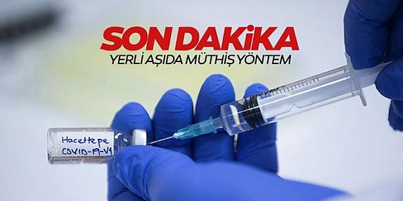 Yerli korona aşısı, virüsün karşısına dublör çıkaracak