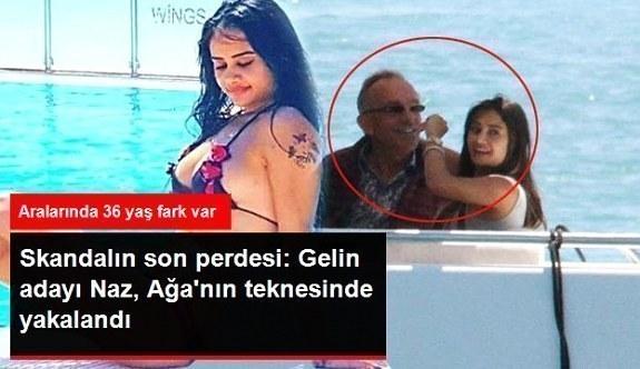 Zuhal Topal'ın Gelin Adayı Naz, Ali Ağaoğlu'nun Kardeşiyle Teknede Yakalandı